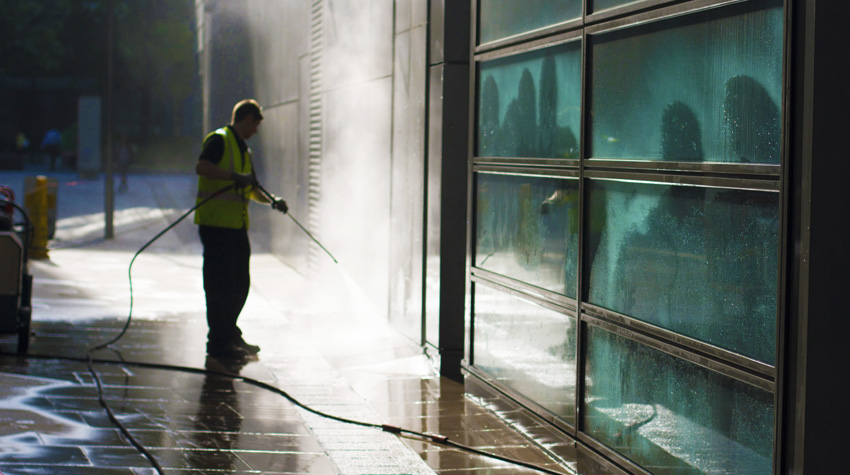 High Pressure Steam Cleaning York